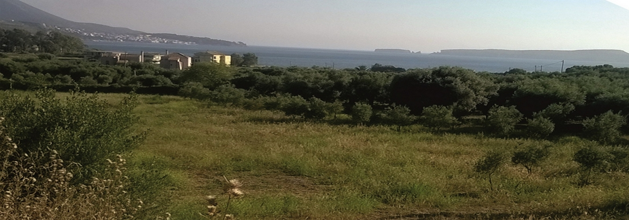 Sea View land for Sale – Gialova/Pylos