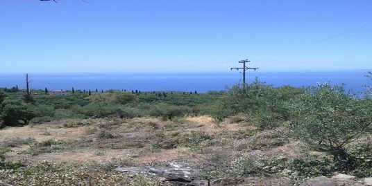 SEA VIEW LAND FOR SALE – KASTANIA/MANI