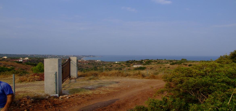 Sea View Land For Sale – Vasilitsi/Koroni
