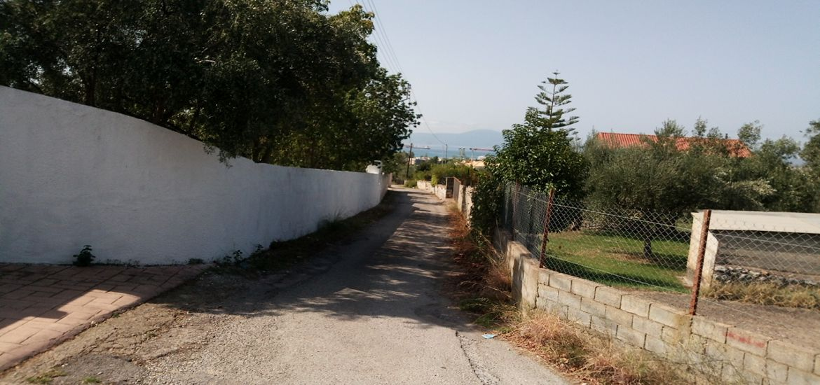 Sea View Land for Sale in Kalamata