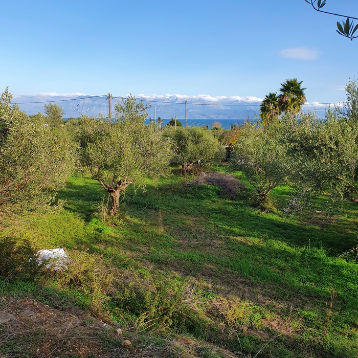 Sea View Land close to Petalidi, the new Motorway and Golf Course